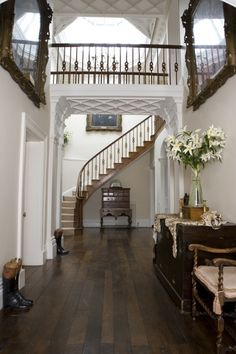 #hallway #staircase #ceiling
