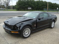 2006 Ford Mustang V6 Automatic Salvage Rebuilable