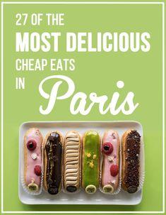 27 de los más deliciosos Comer barato en París