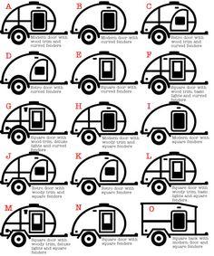 I love camping personalized teardrop trailer vinyl by liltinpurse