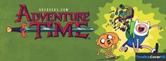 Adventure Time With Jake And Finn Facebook Cover Timeline Banner For Fb75 Facebook Cover