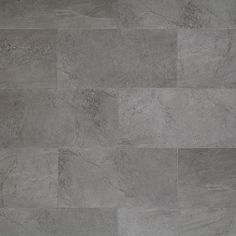 Mannington Adura Luxury Vinyl Tile Flooring, Meridian Collection, Carbon, Product # AR405, 12x24""
