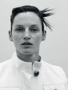 Vivien Solari by Johan Sandberg for Russh Magazine #63