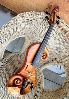 Beautiful electric violin www.promusicianslist.com