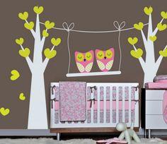 Baby Nursery Decorating Ideas with Nursery Wall Decals | Best Bedroom Interior Design