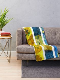 """Vincent Van Gogh"" Throw Blanket by Wonderweiss 