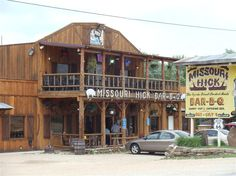 Missouri Hick Bar-B-Q on Route 66 as you head into Cuba. The Missouri one, not the island nation.