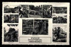 Op vakantie in 1968 naar Ibbenbüren en daar rotsen beklimmen, voor 't eerst kamperen.