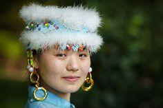 Miao Minority Girl, China