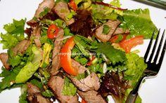Resep Cara Membuat Salad Daging Sapi ala Thailand