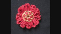 Flowers made with the crochet centre technique | You can vie… | Flickr - Photo Sharing!