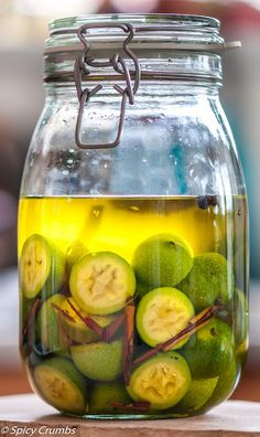 Ořechovka - Spicy Crumbs Home Canning, Lemonade, Pickles, Cucumber, Smoothies, Spicy, Food And Drink, Health Fitness, Homemade