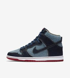 new arrival 56c81 3ec89 Fifteen Years Later, Nike SB   Reese Forbes  Denim Dunks Return  Adding  height to the original.