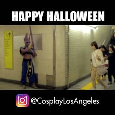 TRICK OR TREAT mother fugkers  (check the link in the bio for my YT) FOLLOW @cosplaylosangeles