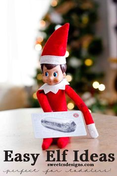 Let Elf on a Shelf buy dinner! And other easy, fun ideas for little kids!