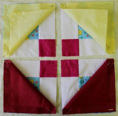 Western Branch of the Irish Patchwork Society: Disappearing 9 Patch Tutorial