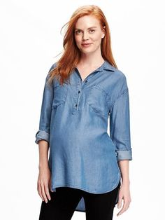 $29 tencel shirt from Old Navy