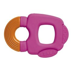 Rounded shapes and different textures to soothe baby's gums. Supplied with a protective storage case. • https://tinytotsbabystore.com/product/beaba-teething-ring/?utm_content=buffer68fe2&utm_medium=social&utm_source=pinterest.com&utm_campaign=buffer