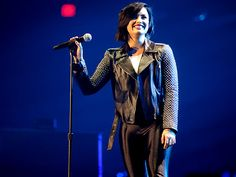 Demi! Lovato Jingle Ball. Chicago, at the Allstate Arena in Rosemont, Illinois. 2014