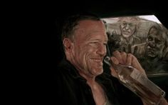 zombie TV series The Walking Dead Michael Rooker Merle Dixon Walking Dead Saison 7, Walking Dead Fan Art, Walking Dead Zombies, Walking Dead Season, Fear The Walking Dead, Power Walking, Michael Rooker, Walking Dead Wallpaper, Merle Dixon