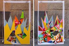 Spanish street artist Nuria Mora