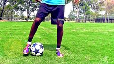 How to Improve Your Ball Control, Dribblings & Soccer Tricks by freekickerz Soccer Drills Soccer Footwork Drills, Soccer Training Drills, Soccer Workouts, Football Drills, Soccer Coaching, Soccer Tips, Football Soccer, Training Exercises, Speed Training
