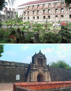 The crumbling walls of a medieval fort make a strong contrast with an adjacent modern skyline, but that's nothing compared to what you see once you step inside the high walls of Intramuros, the walled city containing the last vestiges of Spanish-era influences in Manila.