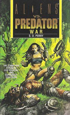 Aliens vs Predator War by John Bolton. Book 2 of AvP. Alien Vs Predator, Predator Comics, Predator Cosplay, Predator Movie, Predator Alien, Wolf Predator, Aliens, Comic Book Covers, Comic Books Art