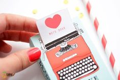 Free Printable Love Machine Matchbox Cover
