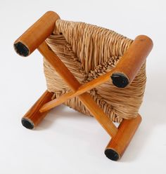 One stool in the style of Charlotte Perriand - Alexis Vanhove | Brussels