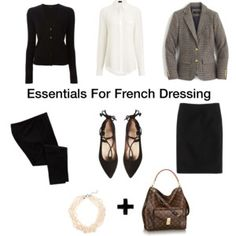 The Essentials For French Dressing