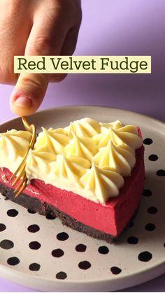Fun Baking Recipes, Fudge Recipes, Sweet Recipes, Cake Recipes, Dessert Recipes, Yummy Recipes, Dinner Recipes, Fun Desserts, Delicious Desserts