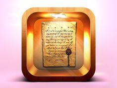 Letter iOS icon