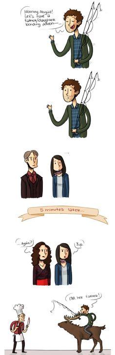 Hannibal fan art. Lol I love this fandom