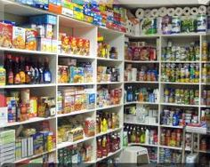 This isn't an extreme couponer's stockpile. It's a photo of the storage area for a West Michigan food pantry. Click the photo to be taken to a list of area food pantries where you can share some of your bounty with others.