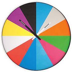 Reloj de Pared Ultra Plano de diseño. Curiosite
