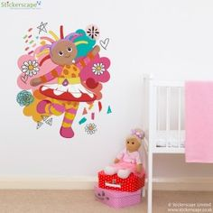 Upsy Daisy cloud wall sticker