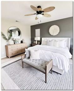 Neutral master bedroom details care of for Desi. - Neutral master bedroom details care of for Desi. Home, Bedroom Makeover, Home Bedroom, Master Decor, Luxurious Bedrooms, Apartment Decor, Minimalist Bedroom, Bedroom Decor Master For Couples, Modern Bedroom