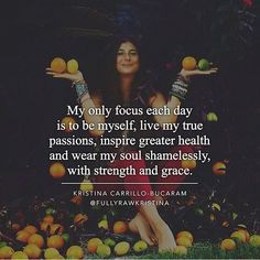 "Beautifully said @fullyrawkristina ""Keep your focus on what really matters and always believe in yourself. Most importantly care for yourself so that you can inspire others to be the best versions of themselves."" Kristina Carrillo-Bucaram For more insights about health self-love and becoming the best version of yourself I highly recommend checking out what this girl is up to: @fullyrawkristina by elliotazoff"