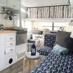 Best camper interior decoration ideas 27