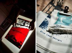 Blue Lawn Designs Screen Print Tea Towels