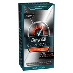 Target:  Degree Clinical Men's Deodorant Just $2.18!