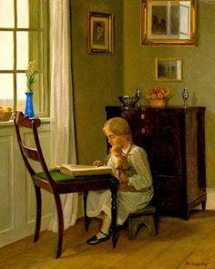 pintura de Broge, Karl Harald Alfred (1870-1955)