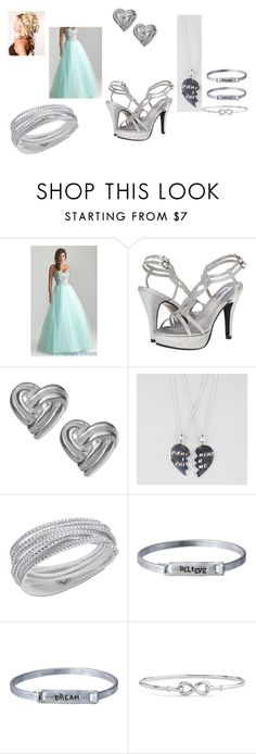 """""""Everything Changed #5"""" by krikri011 ❤ liked on Polyvore featuring Dyeables, Swarovski and Blue Nile"""