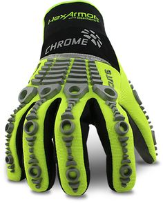 Chrome Series 4039 Level 5 Cut Resistant Safety Gloves