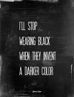 "You just know what color works best for you. | ""I'll stop wearing black when they invent a darker color.""—Emmanuelle Alt"