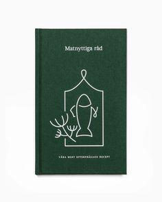 Erik Penser Bank Cookbook by Bedow, Sweden. #illustration #print #cookbook