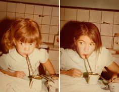 Never lose your inner child...Then and now...Violeta 1981 & 2011 Buenos Aires- Back to the Future blog