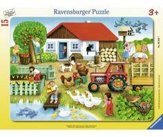 Ravensburger Пазл Лето в деревне 15 элементов