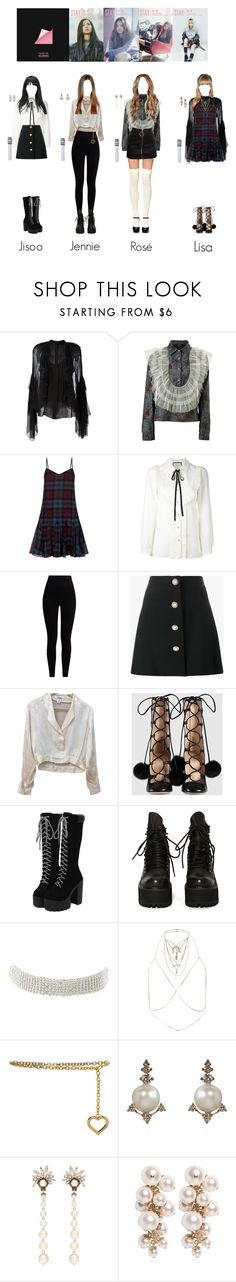 """""""BLACKPINK • Stay"""" by jehi ❤ liked on Polyvore featuring Chloé, Supersweet, Polo Ralph Lauren, Gucci, Pepper & Mayne, Miu Miu, Chanel, UNIF, Charlotte Russe and River Island"""